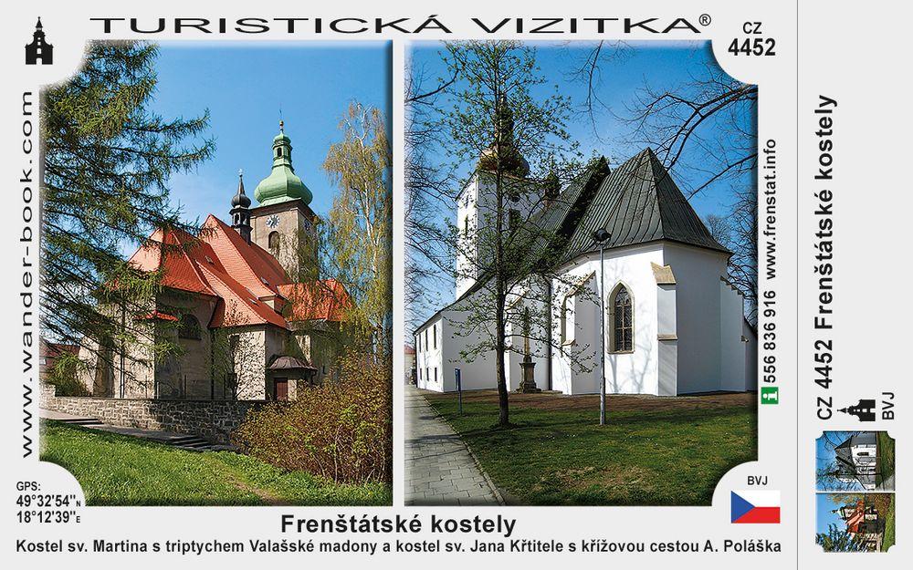 Frenštát kostely