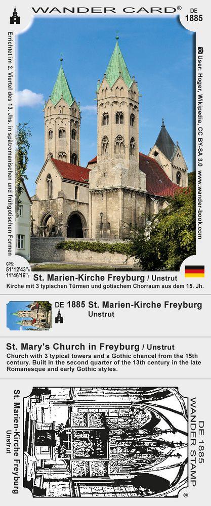 St. Marien-Kirche in Freyburg / Unstrut