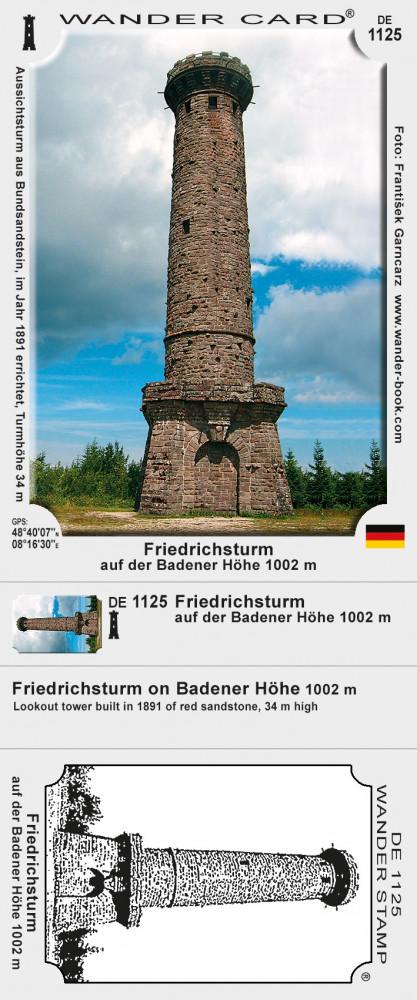 Friedrichsturm auf der Badener Höhe