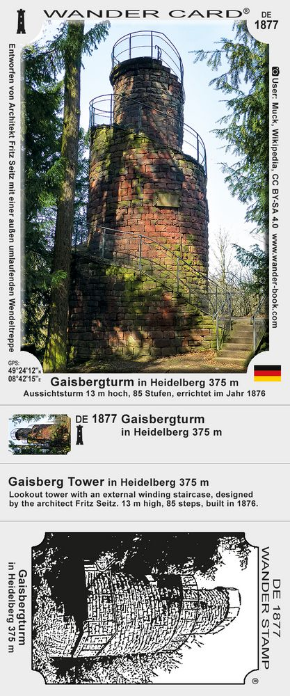 Gaisbergturm in Heidelberg