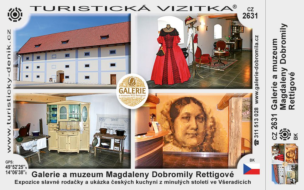 Galerie a muzeum M. D. Rettigové