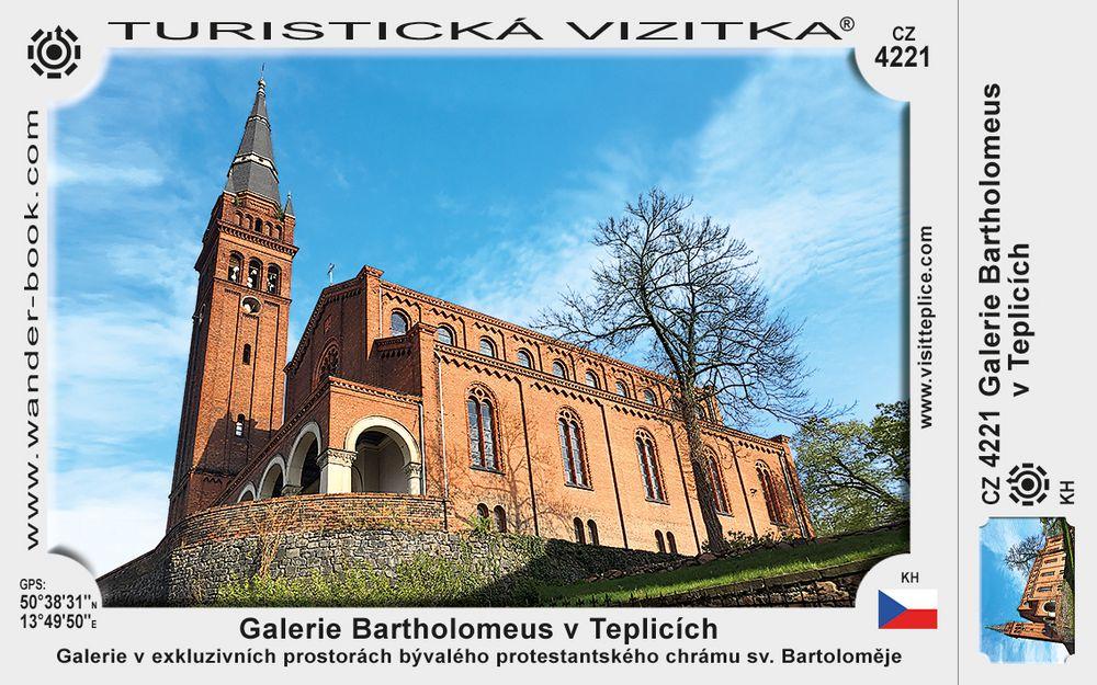 Galerie Bartholomeus v Teplicích