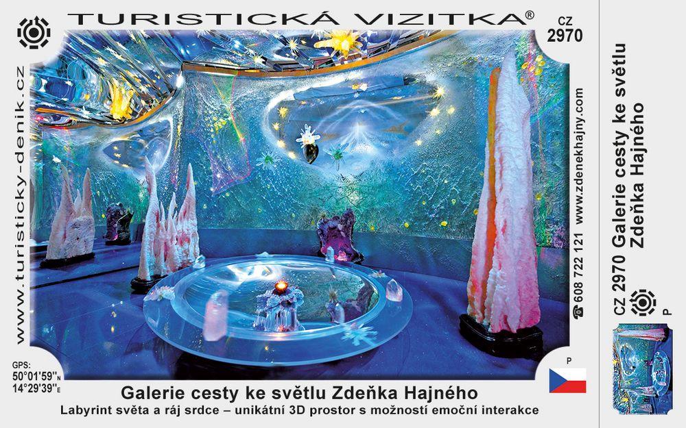 Galerie cesty ke světlu Zdeňka Hajného
