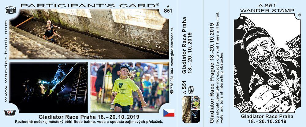Gladiátor race Praha 2019
