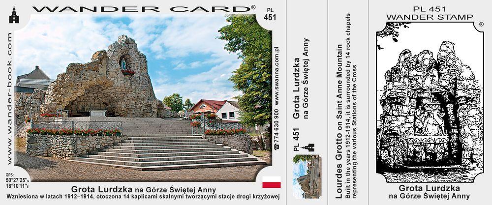 Góra św Anny grota