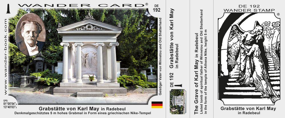 Grabstätte von Karl May in Radebeul