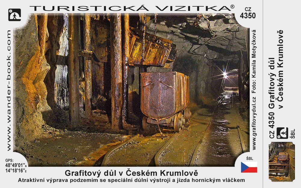 Grafitový důl v Českém Krumlově