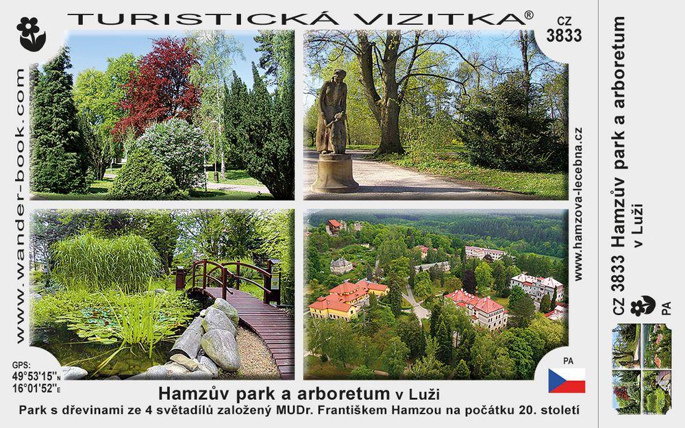 Hamzův park a arboretum v Luži
