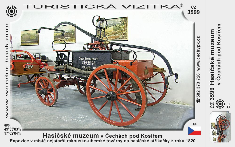 Hasičské muzeum v Čechách pod Kosířem