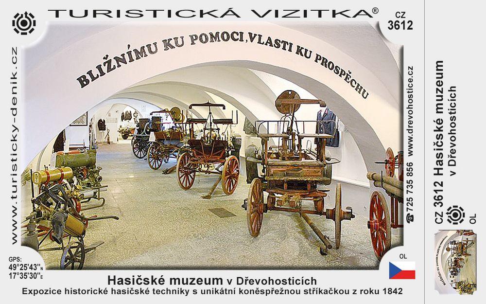 Hasičské muzeum v Dřevohosticích