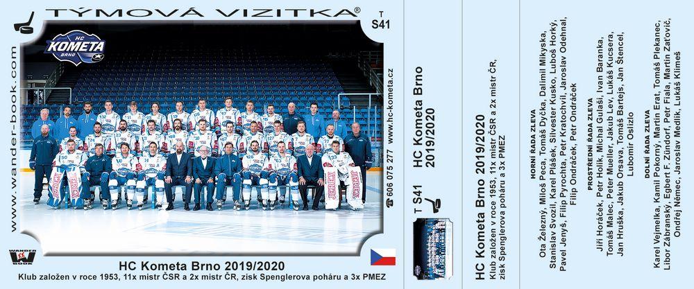 HC Kometa Brno 2019/2020