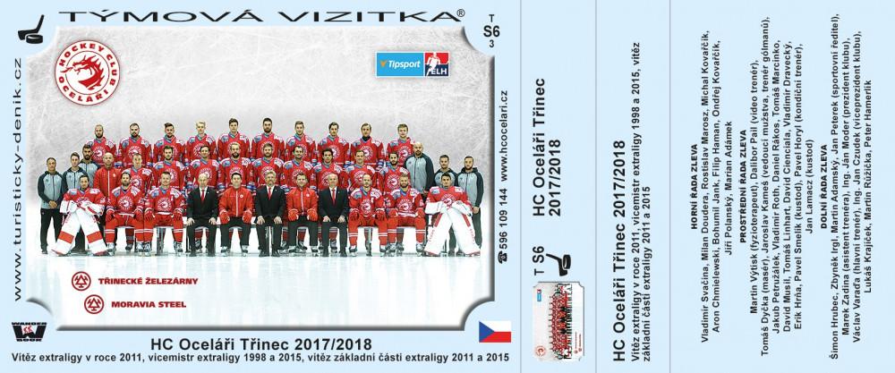 HC Oceláři Třinec 2017 2018