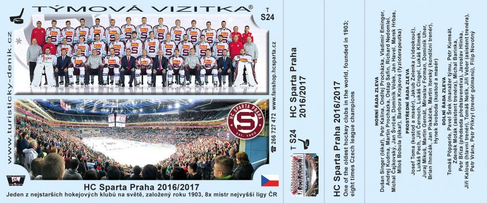 HC Sparta Praha 2018/2019