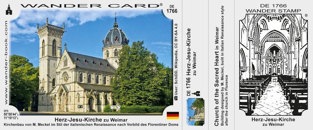 Herz-Jesu-Kirche zu Weimar