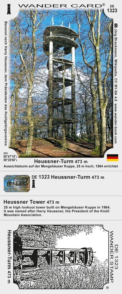 Heussner-Turm 473 m
