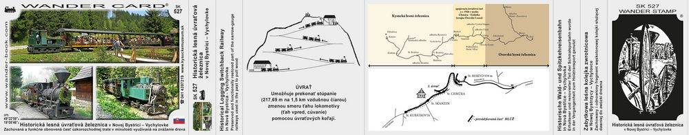 Historická lesná úvraťová železnica v Novej Bystrici – Vychylovke