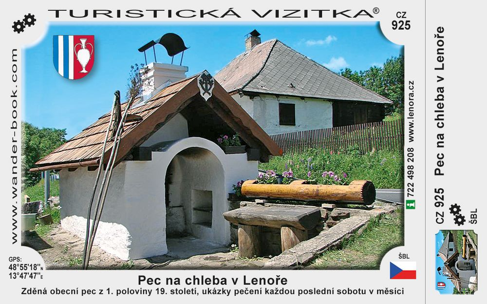 Historická pec v Lenoře
