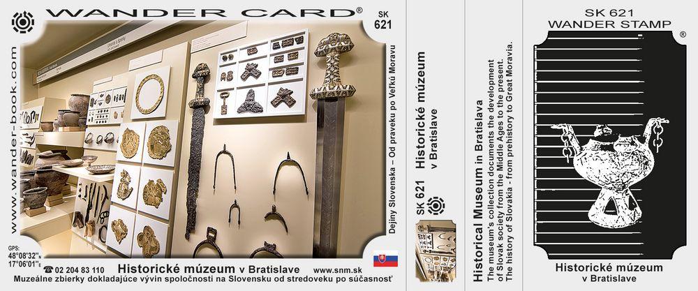 Historické múzeum SNM v Bratislave