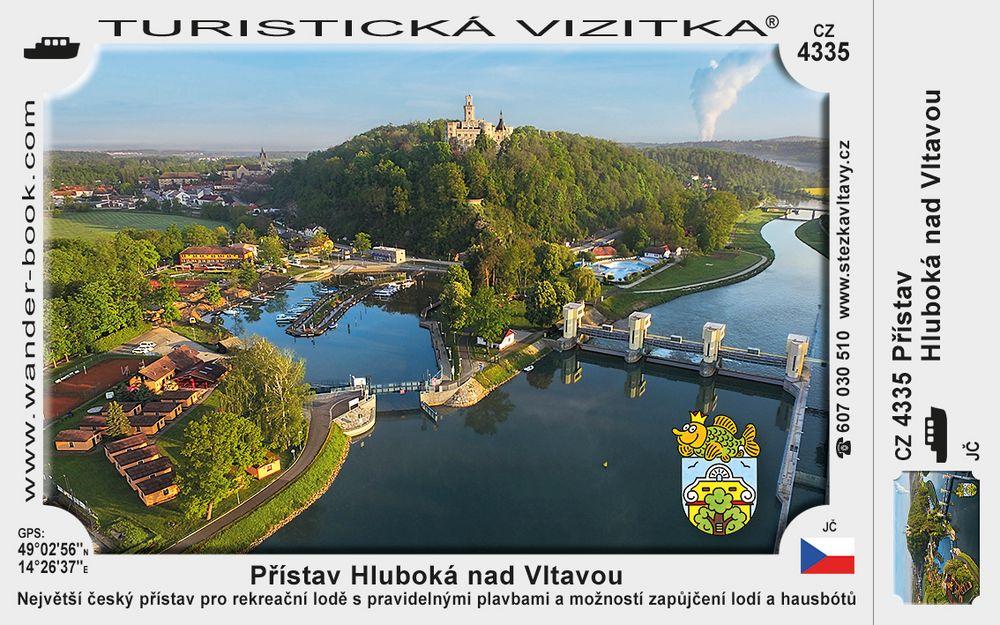 Přístav Hluboká nad Vltavou