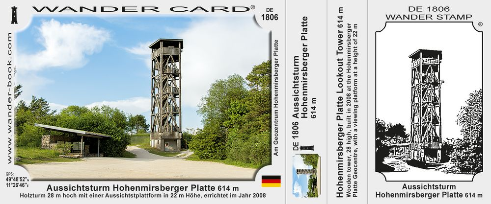 Aussichtsturm Hohenmirsberger Platte