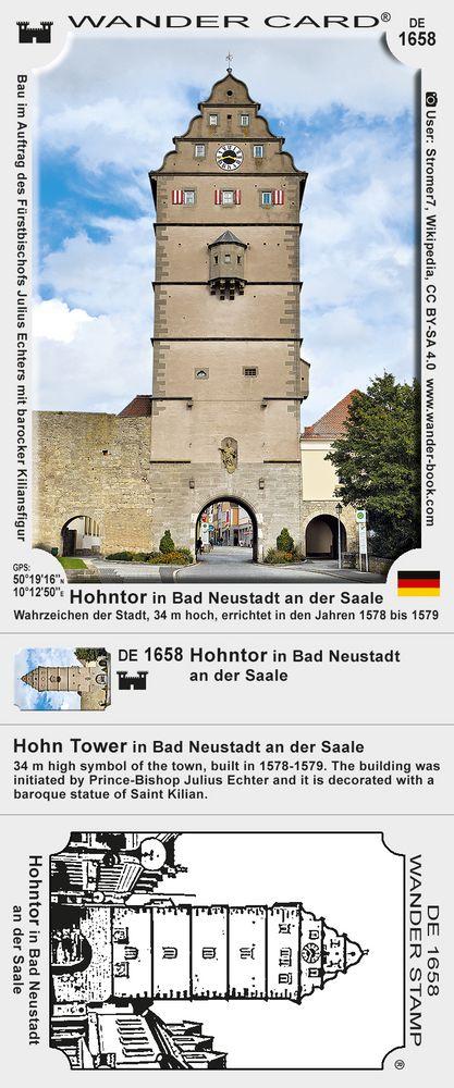 Hohntor in Bad Neustadt an der Saale