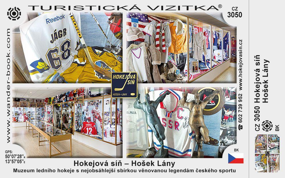 Hokejová síň - Hošek Lány
