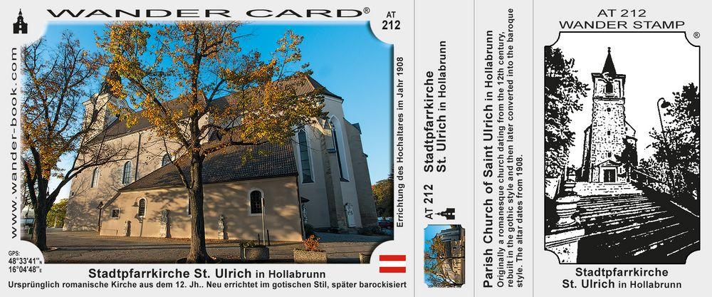 Stadtpfarrkirche St. Ulrich in Hollabrunn