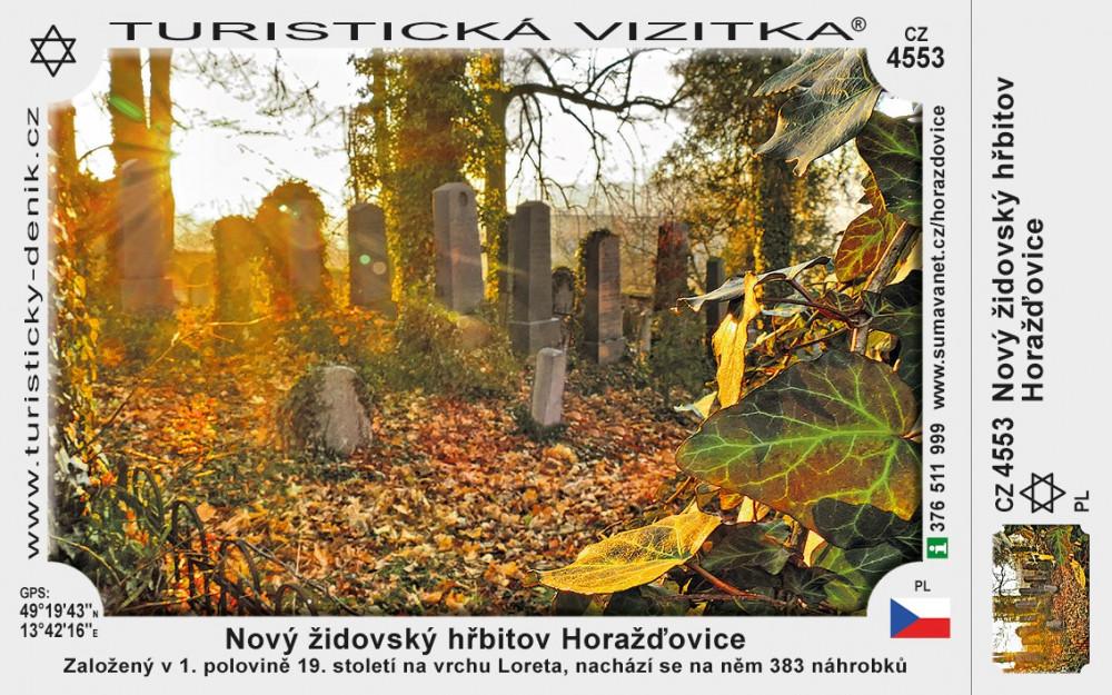 Horažďovice židovský hřbitov