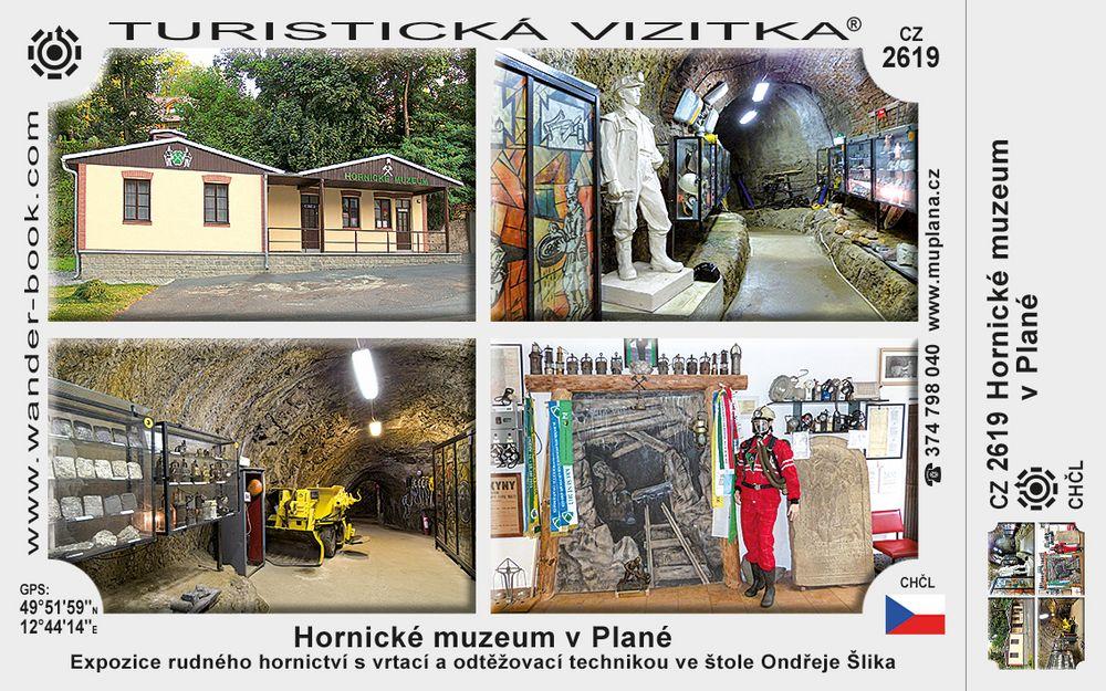 Hornické muzeum v Plané
