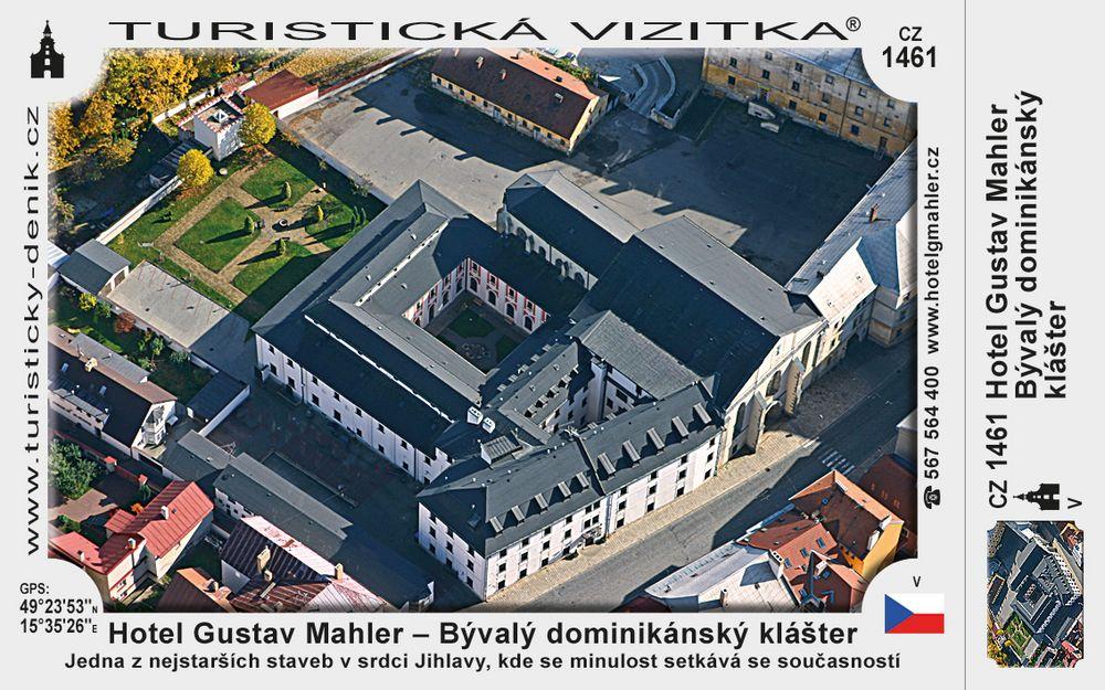 Hotel G. Mahler - Bývalý dominik. klášter