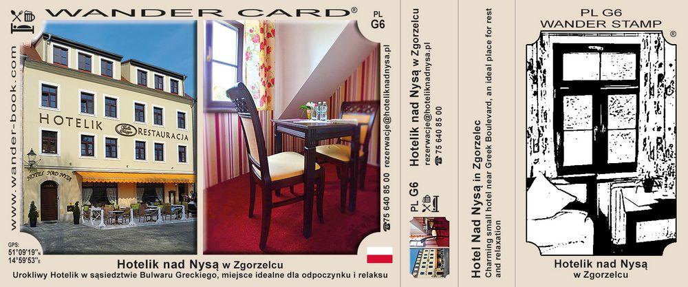 Hotelik nad Nysą w Zgorzelcu