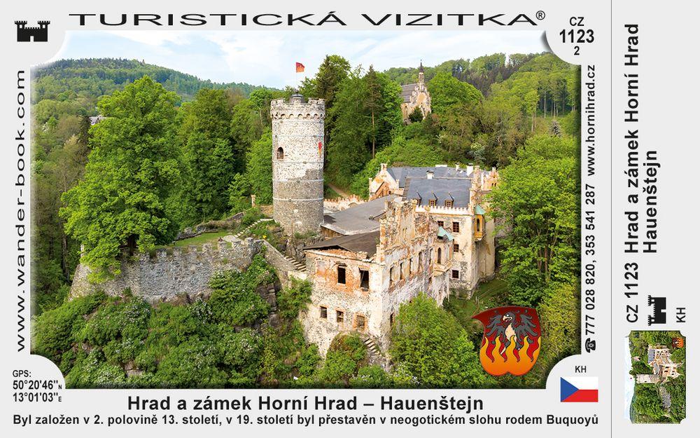Hrad a zámek Horní Hrad – Hauenštejn