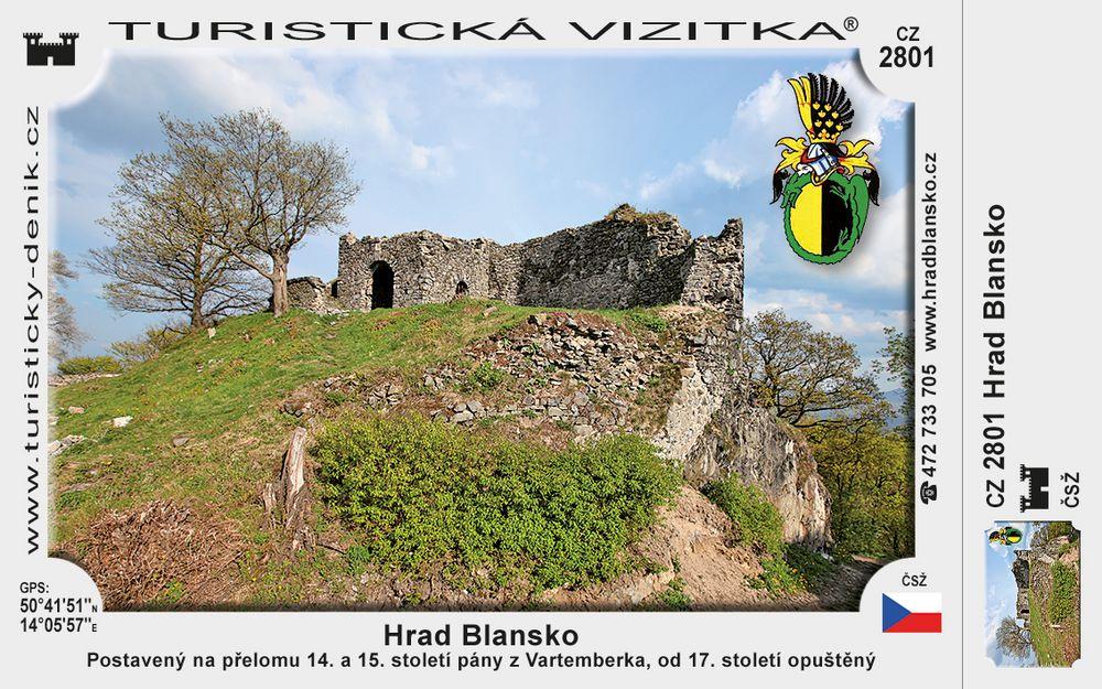Hrad Blansko