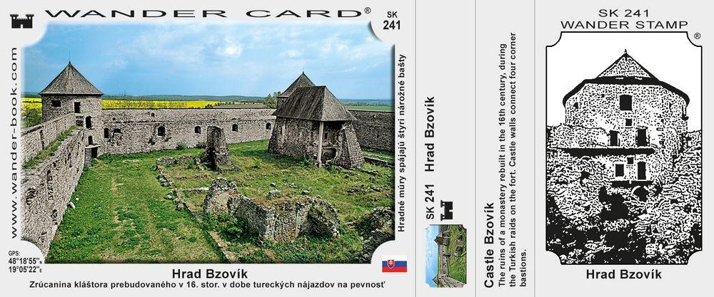 Hrad Bzovík