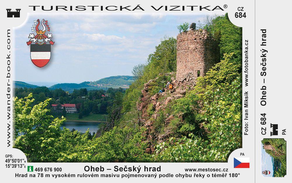 Hrad Oheb - Sečský hrad