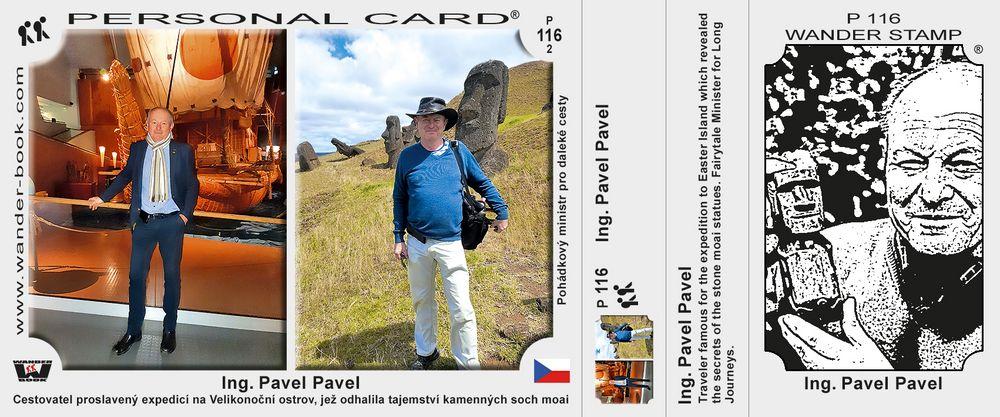 Ing. Pavel Pavel