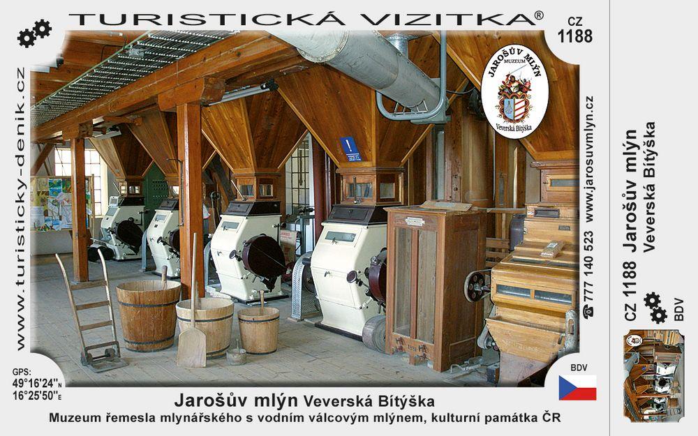 Jarošův mlýn Veverská Bítýška