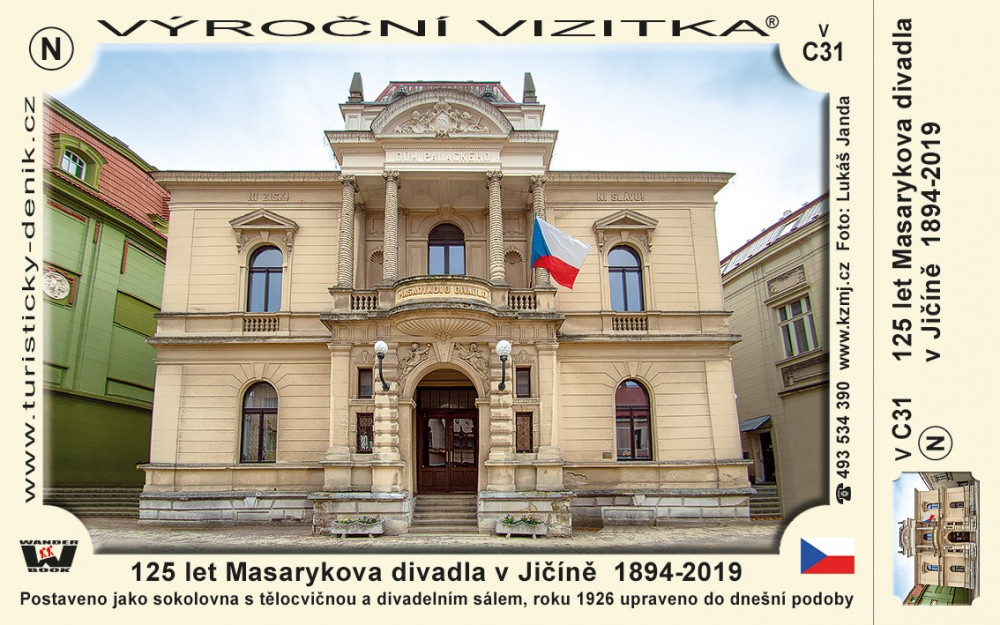 125 let Masarykova divadla v Jičíně  1894-2019