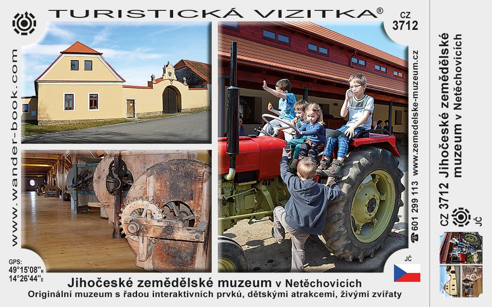 Jihočeské zemědělské muzeum v Netěchovicích