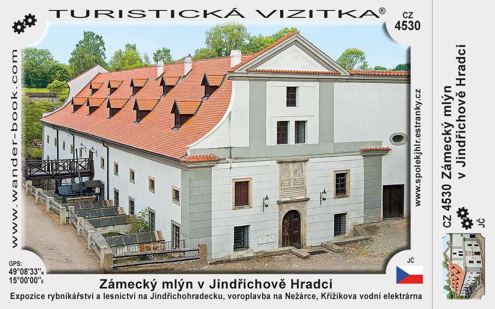 Jindřichův Hradec Zámecký mlýn