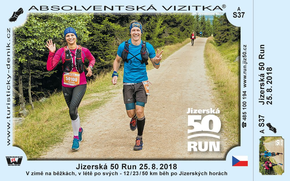 Jizerská 50 Run 25. 8. 2018