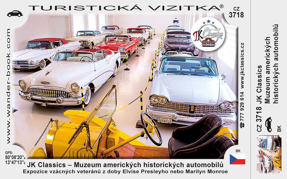 JK Classics - Muzeum americ. automobilů