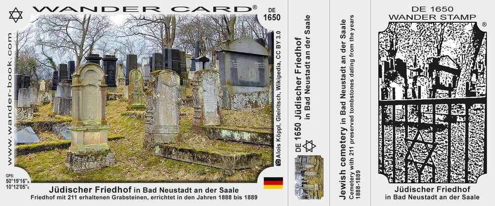 Jüdischer Friedhof in Bad Neustadt an der Saale