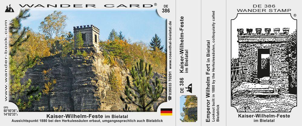 Kaiser-Wilhelm-Feste im Bielatal