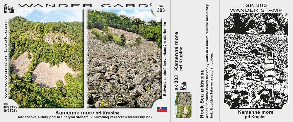 Kamenné more u Krupiny