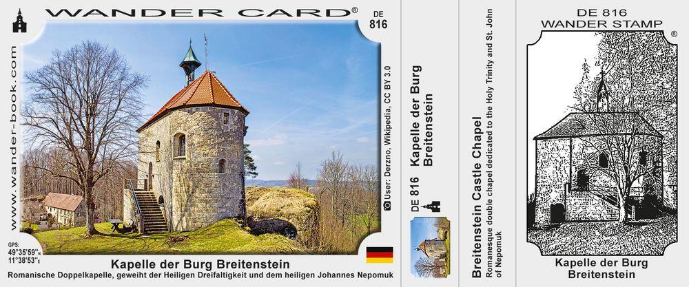 Kapelle der Burg Breitenstein