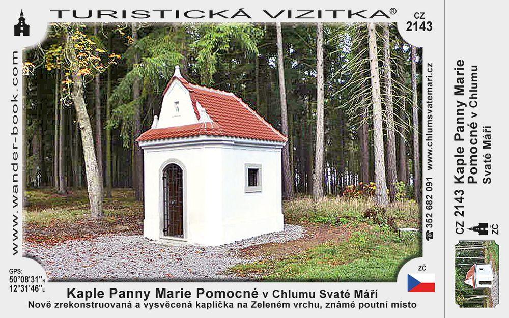 Kaple Panny M. Pom. v Chlumu Sv. Máří