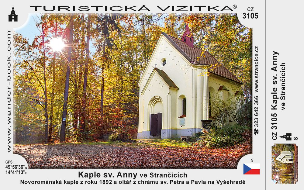 Kaple sv. Anny ve Strančicích