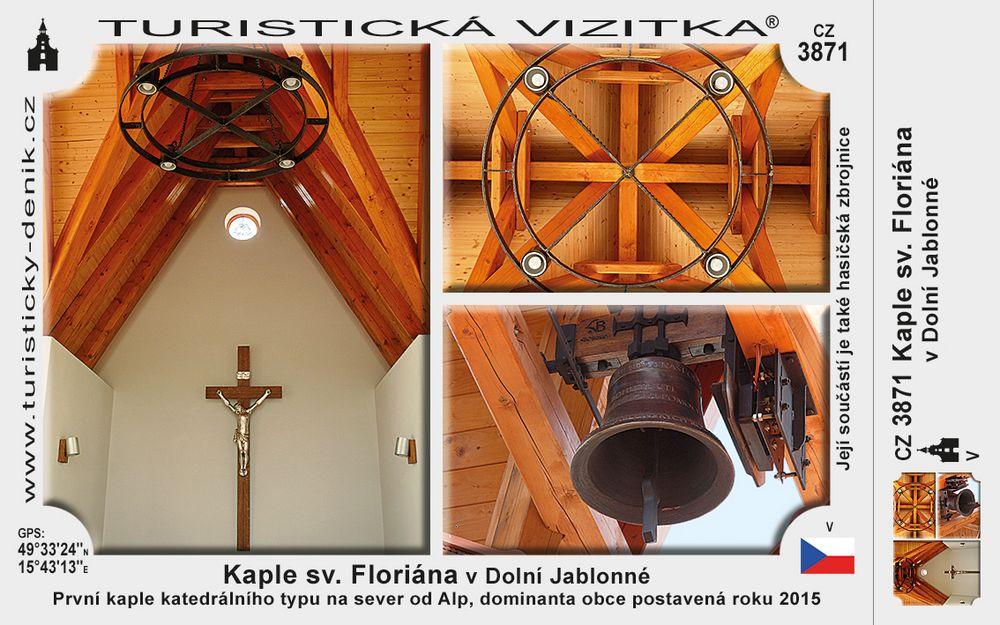 Kaple sv. Floriána v Dolní Jablonné