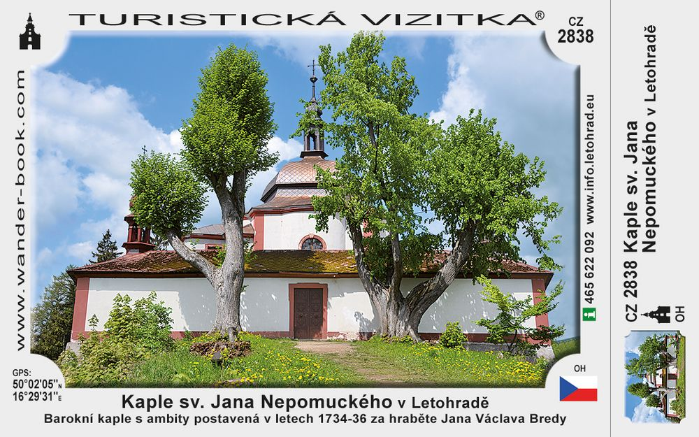 Kaple sv. J. Nepomuckého v Letohradě